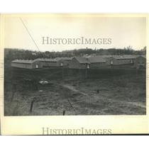 1934 Press Photo CCC Camp in Milwaukee County - mjb12201