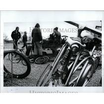 1992 Press Photo Old Bicycles - RRW93057