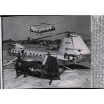 1953 Press Photo The world's largest helicopter the YH-16 Transporter.
