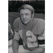 1974 Press Photo Detroit Lion Kicker Erroll Mann - RRX38905