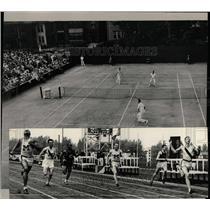 1933 Press Photo Detroit Tennis Club - RRW01061
