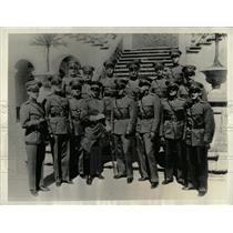 1933 Press Photo Colombia Military Academy Graduates - RRX63775
