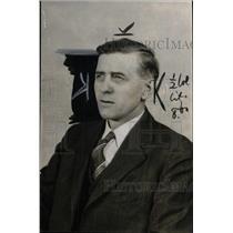 1940 Press Photo Frederick Stephan Detroit inspector - RRW73065