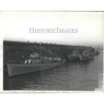 1934 Press Photo Coast Guard Patrol Boats - RRX99605