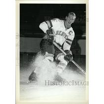 1973 Press Photo Denver University Ice Hockey Stick - RRW74475