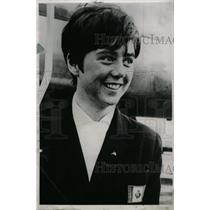 1967 Press Photo Lou Marsh Trophy Canada Nancy Greene - RRW80603