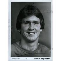 Press Photo Steve Fuller Kansas City Chiefs Football - RRW80139