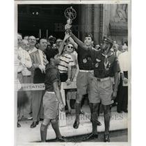 1959 Press Photo Pan American Games City Hall LaSalle - RRW24707