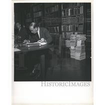 Press Photo United Nations World Court Library - RRW37243