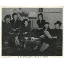 1940 Press Photo Denver Daughters American Revolution - RRX83289