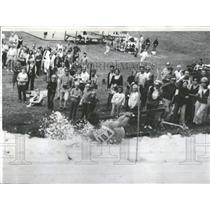 1969 Press Photo Fox River Grove Seventh Summer Slalom