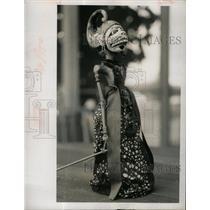 1968 Press Photo Gamelan music puppets orchestra demon - RRX65237