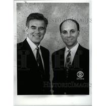 1993 Press Photo Tim McCarver Sean McDonough World 1992 - RRW80335