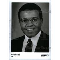 1996 Press Photo Mike Tirico Sportscaster ESPN ABC - RRX40233