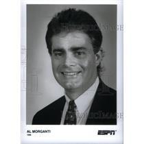 1996 Press Photo Al Morganti NHL Hockey Analyst - RRX39129