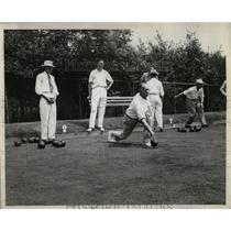 1946 Press Photo Johnston National Lawn Bowling tourney - RRW58355