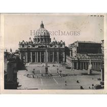 1922 Press Photo body Pope Benedict St Peter's basilica - RRX99803