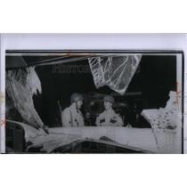1963 Press Photo Broken Police Car Windshield Riot - RRX54683