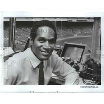 1985 Press Photo Former San Francisco 49ers football star, O.J. Simpson