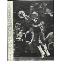 1975 Press Photo Golden State Warriors basketball player, Gus Williams