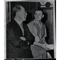 1960 Press Photo Bujakowski Awaits Olympic Decision - RRW80575