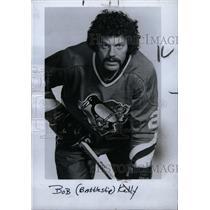 1977 Press Photo Bob Kelly Chicago Black Hawks Player - RRW73743