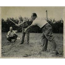 1952 Press Photo John Clerken Gordon Davia Trip Gentile - RRW57079