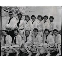 1961 Press Photo YMCA volleyball champ Verneda Thomas - RRX19119