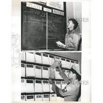 1966 Press Photo Roger Johnson John Witt USO - RRW37029