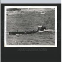 1938 Press Photo US Sub S45 Surfacing War Games - RRX98723