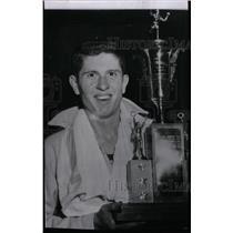 1953 Press Photo Wesley Sawlee Track - RRW74375