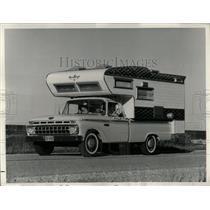 1965 Press Photo Fishing hunting sports Ford Truck - RRW59835