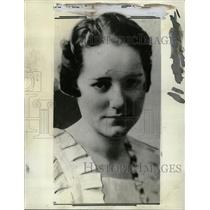 1933 Press Photo Murder Of Brook Hart - RRW12695