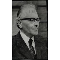 1968 Press Photo Karl Josef Ferber, former Nazi judge on trial in Nuremberg
