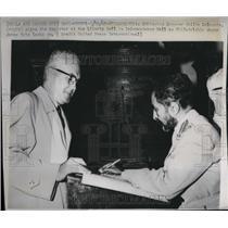 1963 Press Photo Ethiopian Emperor Hailie Selassie in Philadelphia with mayor