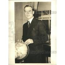 Press Photo Moscow Russia Siignund Levaneffsky noted Soviet airman - sba02148