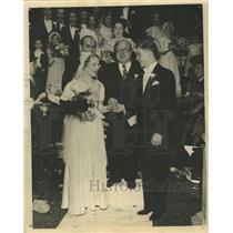 1933 Press Photo Marriage Walkathon Contest - RRW34927