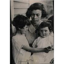 1924 Press Photo Mrs. Hoffman wife convicted murderer - RRW78351