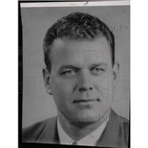 1953 Press Photo John Thursby Coach St Ambrose High Col - RRW82813