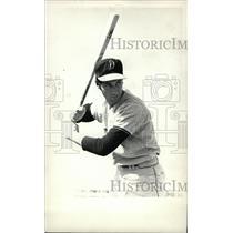 1969 Press Photo Steve Salvato Denver Univ. Baseball - RRW80451