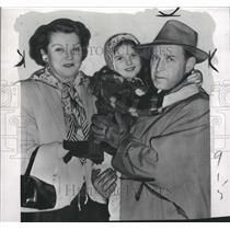 1950 Press Photo Actress Lora Lee Michel - RRW36123