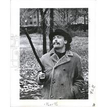 1970 Press Photo Actor Stacy Keach Cigar Stick - RRW45781