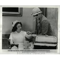 1980 Press Photo Bill Murray Marguerite Lamar Actress - RRW93693