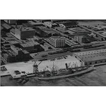 1966 Press Photo New special terminal at Port of Mobile, Alabama, State Docks