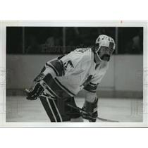 1971 Press Photo Alabama-Birmingham Bulls Hockey Player, Serge Beaudoin