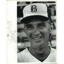 1981 Press Photo Alabama-Birmingham Barons baseball coach Roy Majtyka.