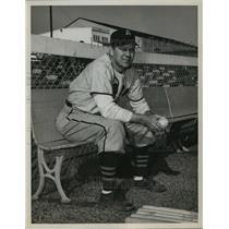 1951 Press Photo Alabama-Auburn Freshman baseball coach Dick McGowan.