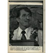1974 Press Photo San Diego, California-New Padre manager, John McNamara.