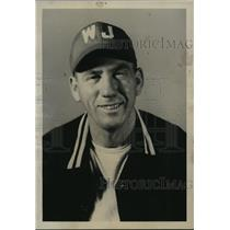 1947 Press Photo Alabama-West Jefferson baseball coach, V.C. McCluskey.