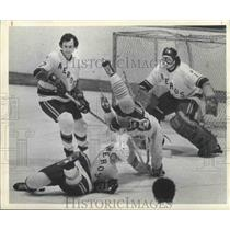 1974 Press Photo Houston Aeros Hockey - hca00974